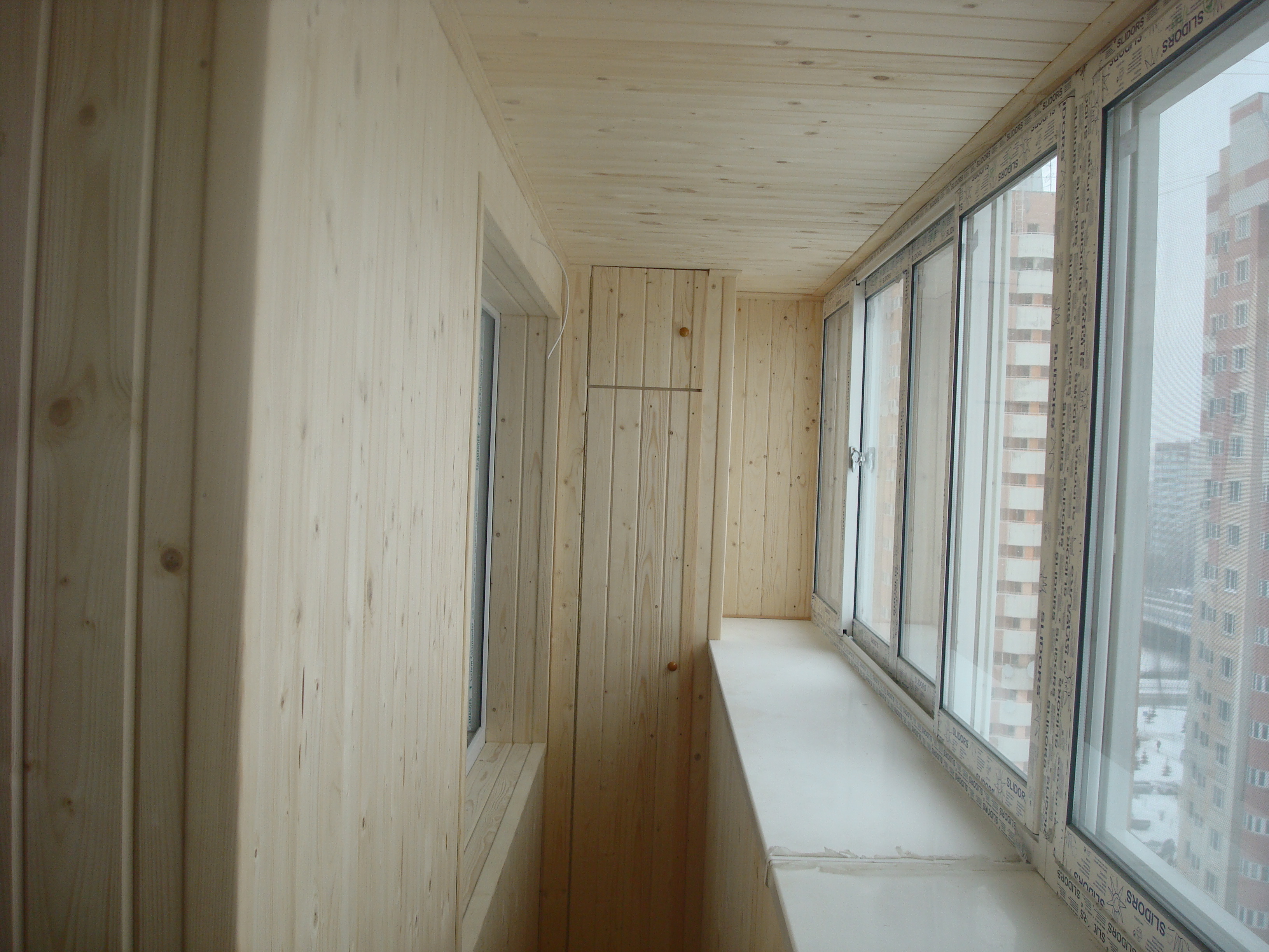 Благоустройство балконов, лоджий, дач. - отделка балкона.....